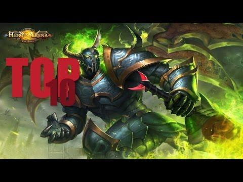Heroes Arena Top 10 Heroes