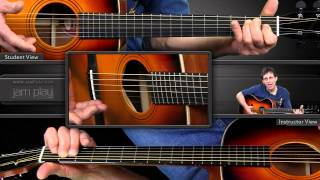 Learn Fingerstyle Blues Guitar - The Rolling E Blues