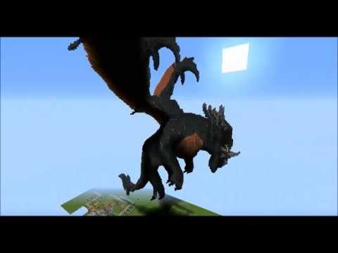 How To Build A Dragon In Minecraft Xbox