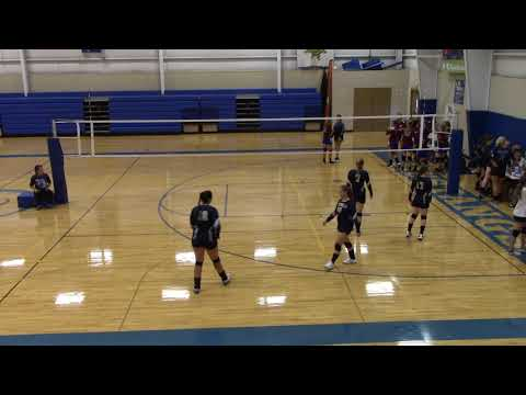 Vball - Foothills Falcons vs Petra Academy Griffins 08-24-2019