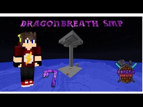 DragonBreath SMP #7 Building AFK Mob Farm