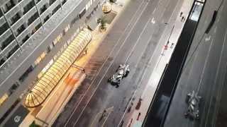 ORIGINAL HD - Batmobile! Suicide Squad Filming - Toronto Video 4