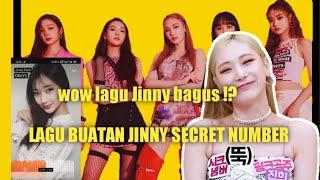 SECRET NUMBER (시크릿넘버) Jinny bikin lagu !? Lagu buatan Jinny …
