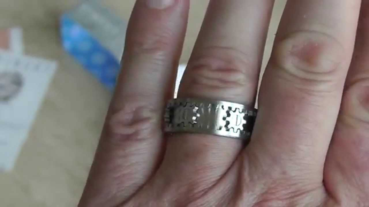 Kinekt Gear Ring Unboxing and Review - YouTube