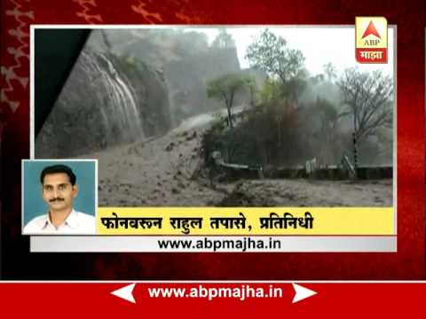 Khambatki, Satara : Report on valley road flood water
