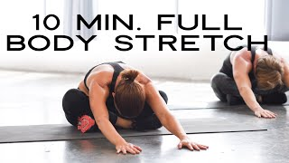 10 Minute Stretch Routine (no equipment) with Kit Rich
