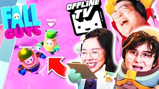 COUPLE FIGHT?! TOAST KILLED ME TWICE?! FALL GUYS w/ MICHAEL REEVES, LILYPICHU & DISGUISED TOAST