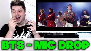 BTS (방탄소년단) 'MIC Drop (Steve Aoki Remix)' Official MV [REACTION]