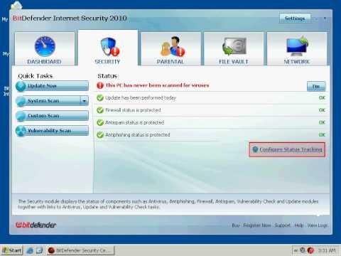 BitDefender Internet Security 2010 Presentation