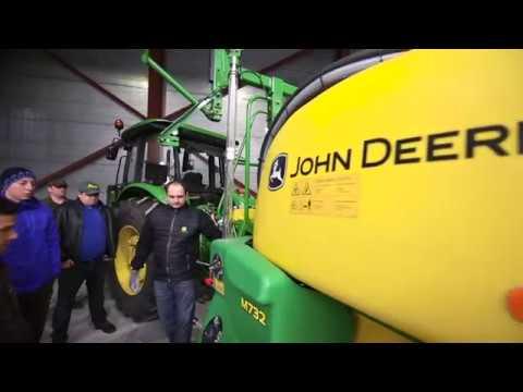 Тренінг по причіпному обприскувачу John Deere