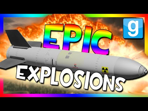 EPIC BOMB TESTING!!! | Nukes, Bombs, And Missiles (Garry's Mod Sandbox)
