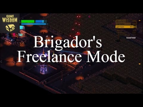 Game-Wisdom Plays Brigador's Freelance Mode