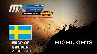 EMX125 Presented by FMF Racing Race2 Highlights - MXGP of Sweden