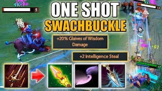 1 Swashbuckle = 1 Kill [Triple Attack Modifier: Impetus + Glaives] Dota 2 Ability Draft