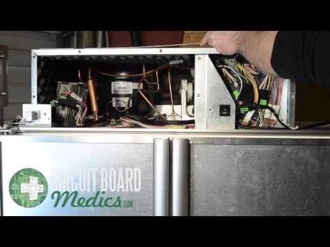KitchenAid Side by Side Refrigerator Control Board Repair W10219463 on