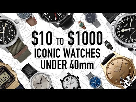 10 Best Iconic Watches For Men With Smaller Wrists 2019: $10 To $1000