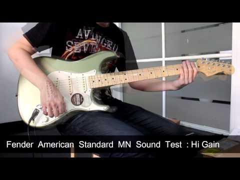 Fender American Standard MN Sound Test