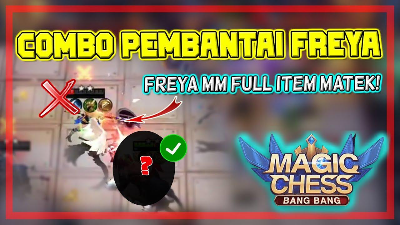 Combo Penghancur Freya - Meta Kita Ratain! Combo Terkuat Magic Chess - Mobile Legends Bang Bang