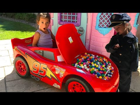 Thumbnail: Baby Colors Gumball Candy Lightning Mcqueen Car Johny Johny Yes Papa