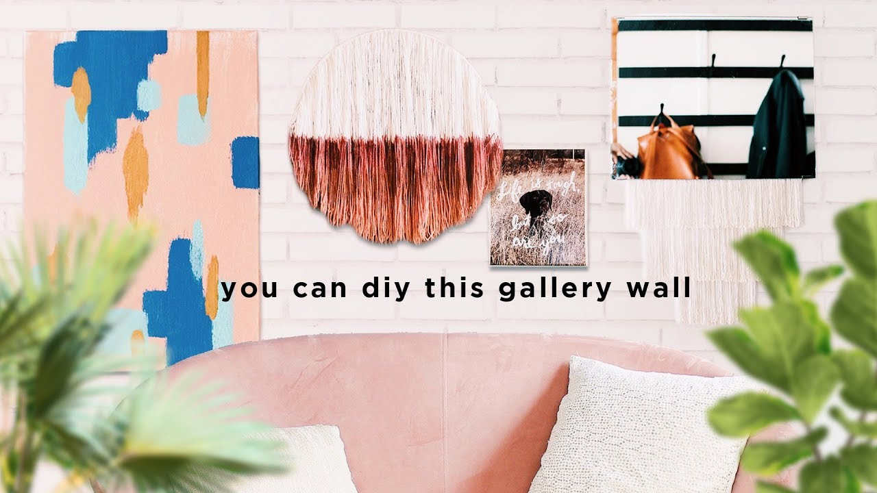 [VIDEO] - Easy Upcycled Wall Art Ideas 2
