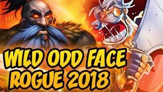 Hearthstone: Wild Odd Face Rogue 2018