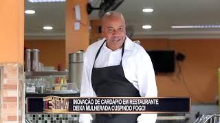 Brazilian Prank - Restaurant with 3D menu