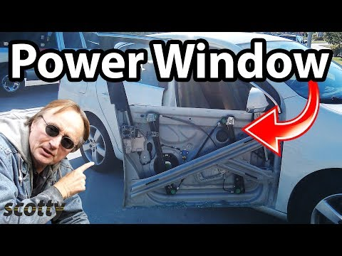 How To Fix Power Window Regulator Assembly In Your Car Youtube