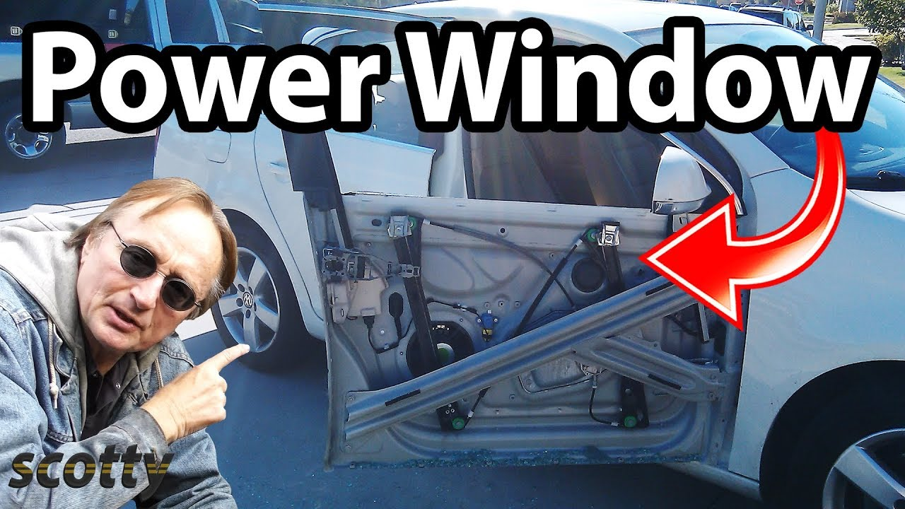 how to fix power window regulator  [ 1280 x 720 Pixel ]