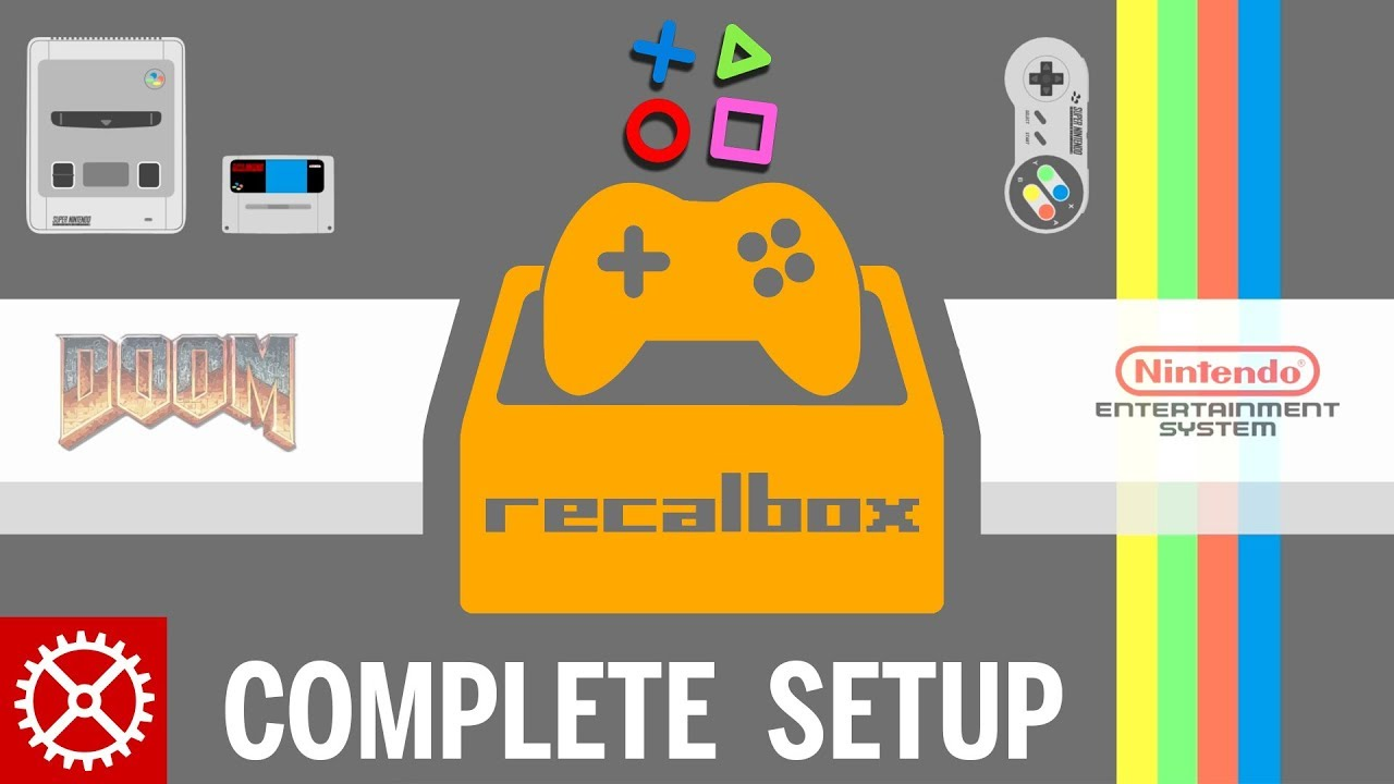 Complete Recalbox Raspberry Pi 3 Setup Tutorial - ROMS, SSH, UPDATES and  KODI