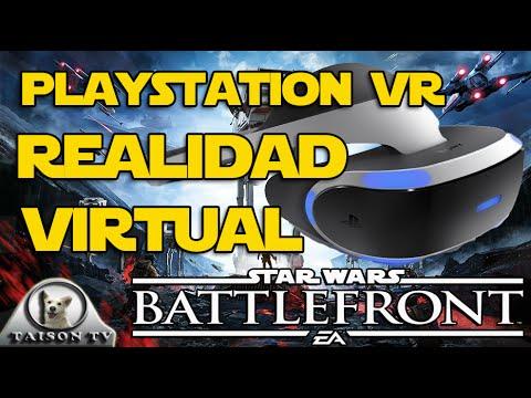 Noticias: Play Station VR compatible con Star Wars Battlefront en unos meses
