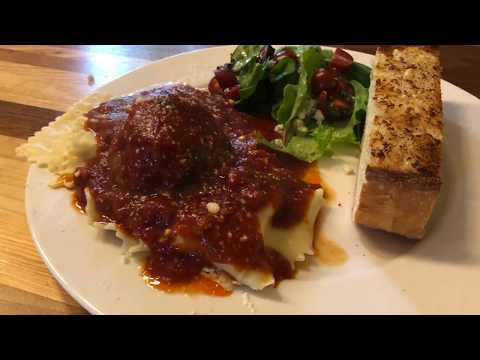 Italian Recipe:  Homemade Ravioli, Sauce & Meatballs