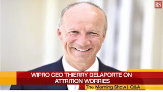 BS Interview: Wipro CEO Thierry Delaporte on worrying attrition situation