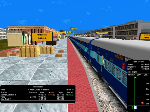 22452/Chandigarh - Mumbai Bandra (T.) Bi-weekly SF Express || Indian Railways In MSTS Open Rail
