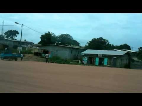 Rural outskirts of Libreville/Gabon