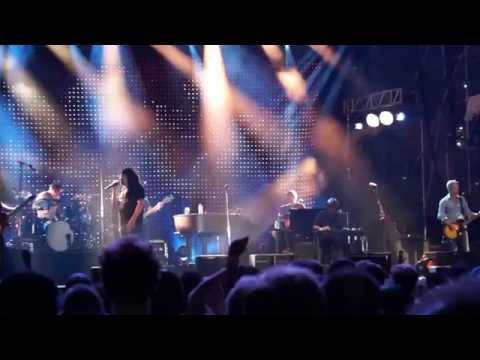 Counting Crows - Time again  at Pier  97 in NYC   8-18-2015