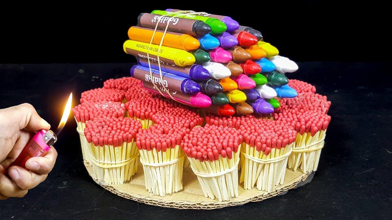 EXPERIMENT Match VS Crayons Colors