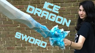 An ICE DRAGON SWORD from Formidable Toys