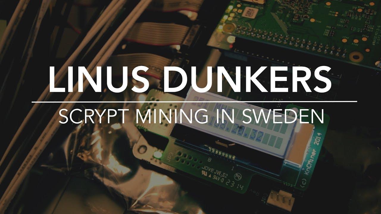 sweden bitcoin mining