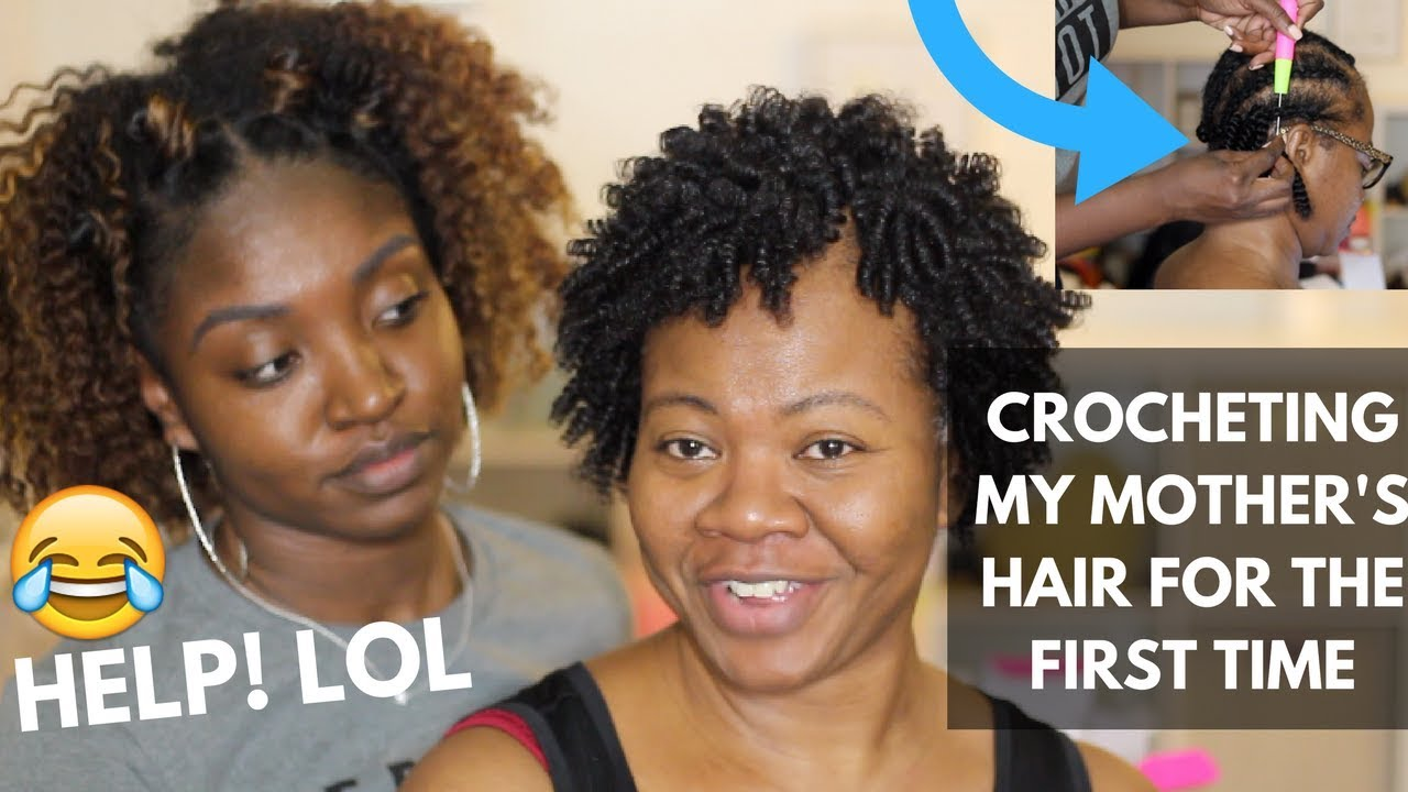 Crochet On Short Hair Protective Styling Youtube