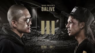 TWIO3 : EP.10 TORDED vs MC-KING (8ALIVE) | RAP IS NOW