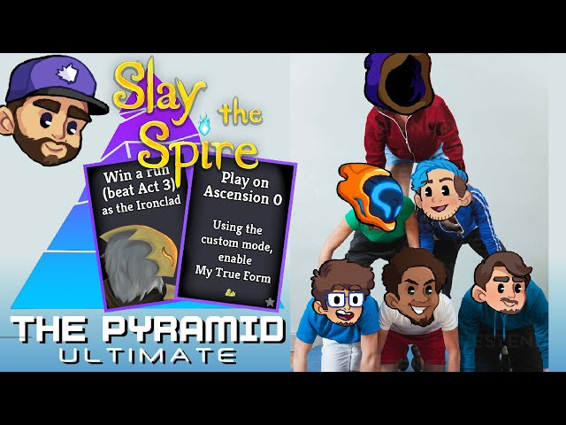 FIRST ANNUAL WHOLSOMEVERSUS PYRAMID CHALLENGE   Game 1 - Slay The Spire