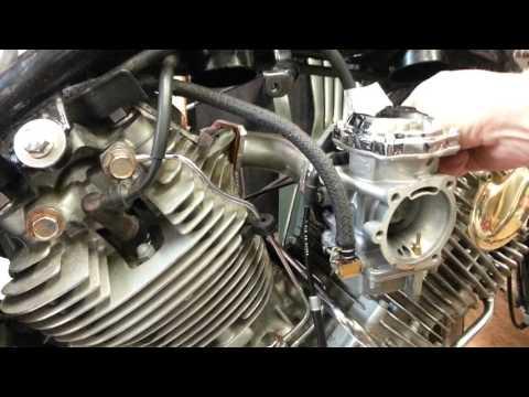 yamaha virago 1100 single carburettor conversion - Most