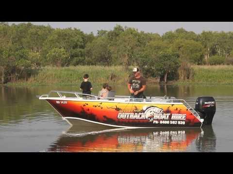 Outback Boat Hire Darwin Australia