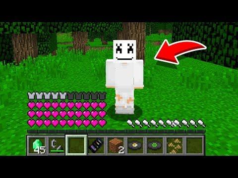 Minecraft: How To Play MARSHMELLO In Minecraft! REAL LIFE MARSHMELLO! Battle NOOB VS PRO Animation