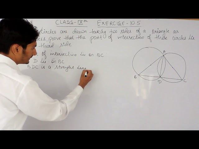 Exercise 10.5 - Question 10 - Circles NCERT Solutions for Class 9th Maths || True maths