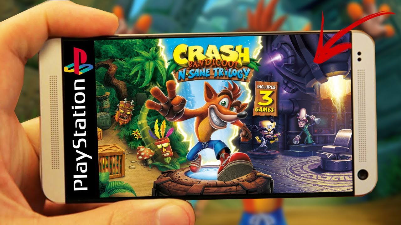 crash bandicoot trilogy no android happy chick youtube