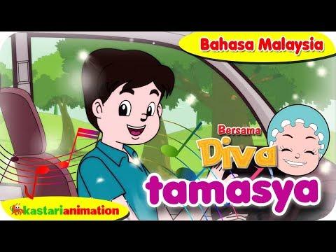 TAMASYA   Nyanyian Anak Islam bahasa Malaysia bersama Diva   Kastari Animation Official