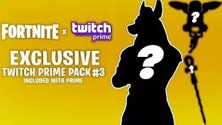 Fortnite Battle Royale Twitch Prime Pack 3 Tôt!!!!!