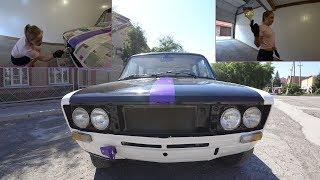видео Жигули покраска баллончиком. Супербюджет: как самому покрасить машину из баллончика в гаражных условиях?