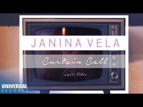 Janina Vela - Curtain Call (Official Lyric Video)